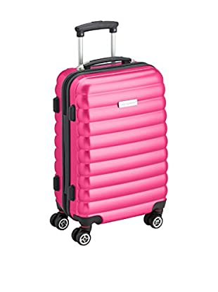 Luggagezone Hartschalen Trolley Upright rosa 57 cm