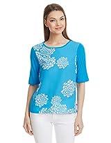 United Colors Of Benetton Women's Floral T-Shirt
