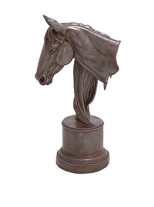 Horse Head Accent Sculpture