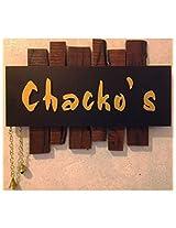 Karigaari Wooden Chacko's Name Plate