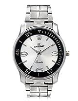 Dezine DZ-GR056-WHT-CH analog watch