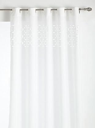 ALBA Cortina de Baño Laser Fabric (Blanco)