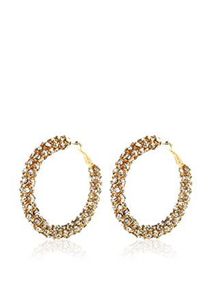 Amrita Singh Pendientes Rock Star Hoops
