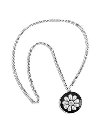 Frou Frou Bijoux Collar Florale Negro/Blanco