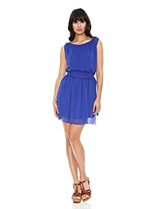Pietro Garcia Vestido Fashion Harbin (Azul Eléctrico)