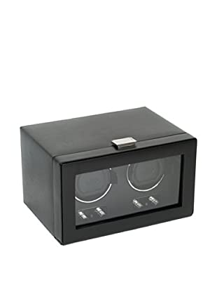 Wolf Designs 270102 Heritage Module 2.1 Double Watch Winder with Cover