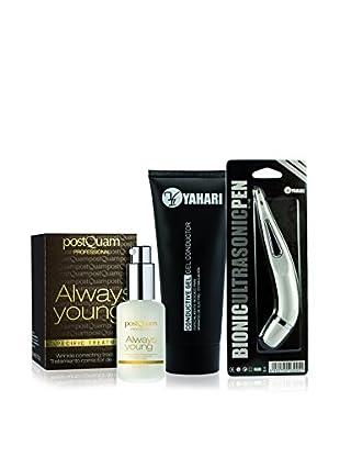 PostQuam Faltenbehandlung 3er Set Corrector (30 ml), Conductive Gel 200 ml, Ultrasonic Pen