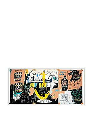 ARTOPWEB Wandbild Basquiat El Gran Espectaculo (History Of Black People) 138x65 cm