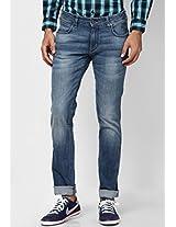 Blue Slim Fit Jeans (Skanders)