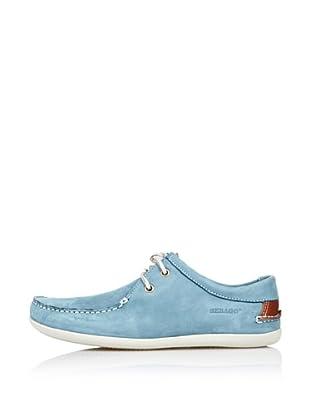 Sebago Zapato Deportivo (Azul Celeste)