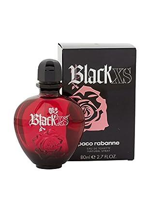 Paco Rabanne Eau de Toilette Damen Xs Black 80 ml, Preis/100 gr: 63.68 EUR