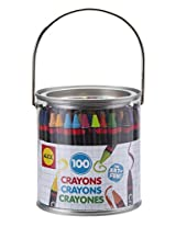 ALEX Toys Artist Studio 100 Crayons with Novelty Paint Can