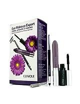 Eye Makeup Expert (1x Quickliner, 1x Chubby Stick Shadow, 1x High Impact Mascara) - Purple 3pcs