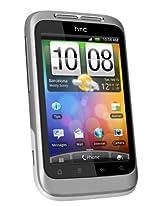 HTC Wildfire S A510E Smartphone-Silver/White
