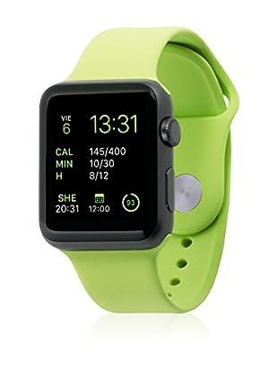 UNOTEC Uhrenband für Smartwatch Sport Apple Watch 42 mm grün