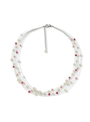 Nova Pearls Copenhagen Collana Perle Acqua Dolce 5 - 6 mm