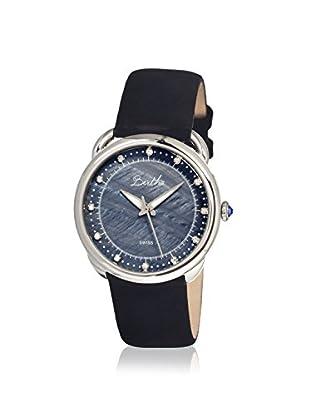 Bertha Women's Beverly Black Leather Watch