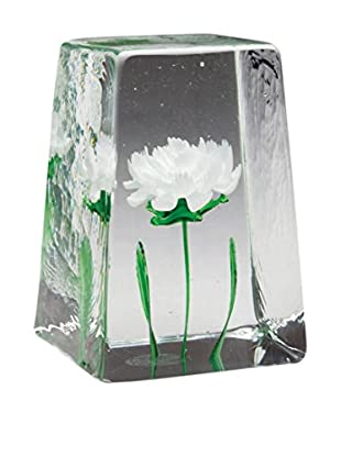 Dynasty Gallery Glass Fiori Carnation, White