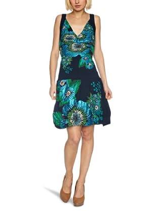 Desigual Vestido  21V2092 (Azul marino)