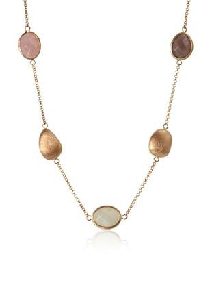 Rivka Friedman Multi-Stone Pebble Necklace