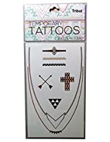 Beautiful Quality Temporary Tattoos ( 2 Sheets Included ) Tribal Design