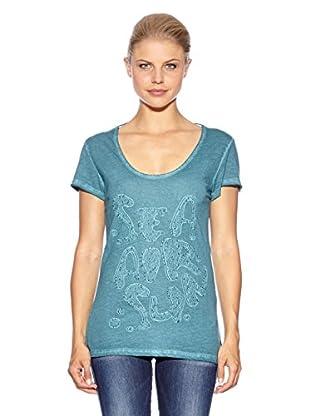 Anna Scott Camiseta Poison (Verde Esmeralda)