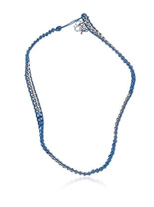 Pedro del Hierro Collar Bolitas (Azul)