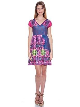 Sándalo Vestido Deya (Rosa / Azul)