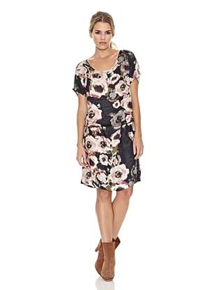 Monoplaza Vestido Birton (Negro / Rosa)