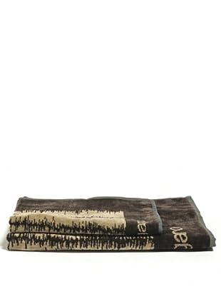 Ungaro Handtuch und Badetuch Wood (Beige)