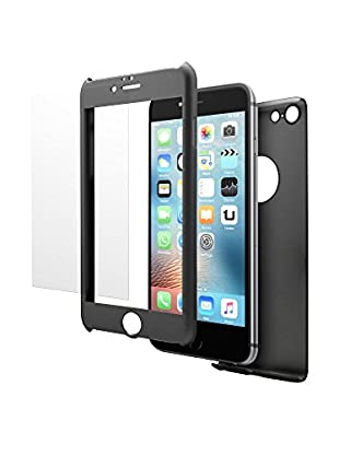 UNOTEC Pack Protección iPhone 6/6S Plus Negro