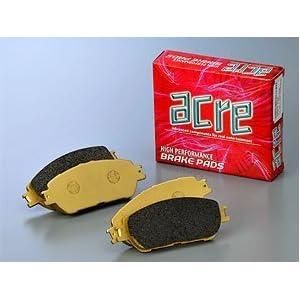 【クリックでお店のこの商品のページへ】ACRE(アクレ) ダストレスリアル[前後SET] ブレーキパッド クラウン LS151 95.12~99.9 437 / 353