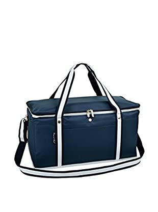 Picnic at Ascot Folding 72-Can Cooler, Navy