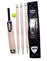 Pepup Wooden Cricket Set with Carry Bag