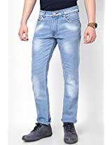 Ice Blue Skinny Fit Jeans