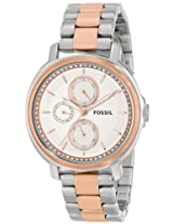 Fossil Analog Silver Dial Unisex Watch ES3356