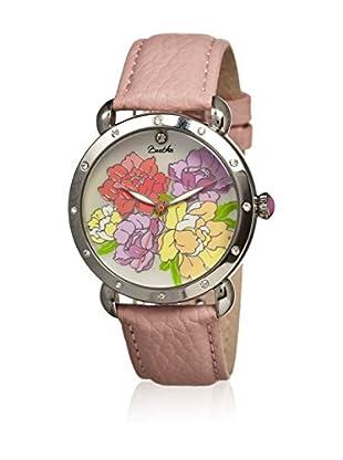 Bertha Uhr mit Japanischem Quarzuhrwerk Angela rosa 41 mm