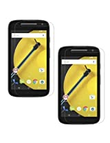 SDO Anti Scratch Screen Protector Guard for Motorola Moto E2 2nd Generation Pack of 2 Clear Screen Guard