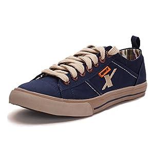 Sparx Mens Canvas Sports Shoes ( SM-130-BLUE-6 )