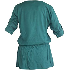 Editions Women Tunics SS12-VR501-TURQUOISE