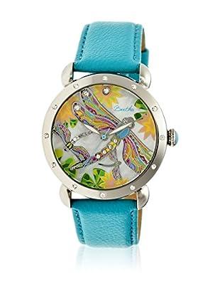 Bertha Uhr mit Japanischem Quarzuhrwerk Jennifer türkis 41 mm