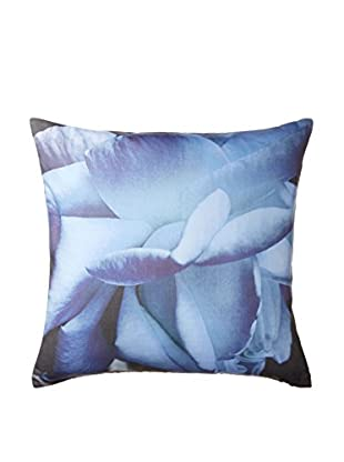Belle Époque Home Concept Collection Pin Point Blue Flower Decorative Pillow