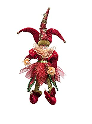 Winward Regal Holiday Jester, Burgundy/Green