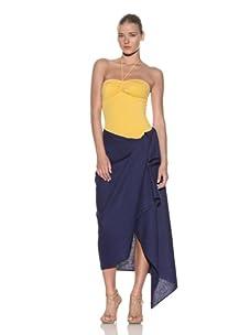 Chris Benz Women's Luxury Silk Sarong (Navy)