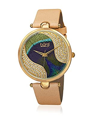 Bürgi Uhr mit schweizer Quarzuhrwerk Woman 38 mm