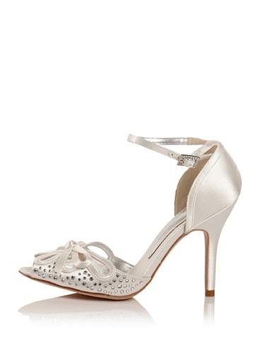 Bourne Women's Blossom Ankle Strap Sandal (Ivory)