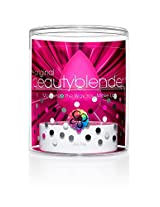 BeautyBlender Original Single + blendercleanser Solid Cleanser Kit 2 Piece Kit Includes: 1 Pink Blender + 1 Solid Cleanser