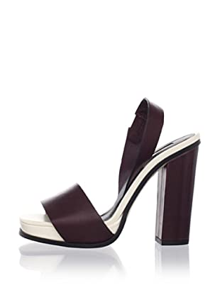 Calvin Klein Collection Women's Farah Slingback Sandal (Torch/Star)