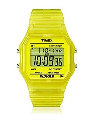 TIMEX Reloj de cuarzo Unisex Unisex Classic Amarillo 35 mm