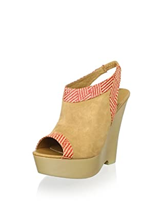 Australia Luxe Collective Women's Destoto Wedges (Tan/Poppy)